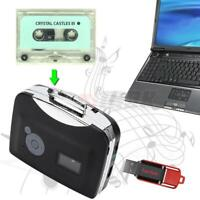 Cassette to MP3 Converter Stereo USB Cassette Digital Tape MP3 with Headphone