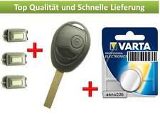 2 Tasten Button Gehäuse Key Cle Chiave IIave Case repair für Mini R50 R52 one S