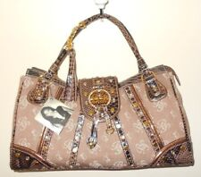 Women S Rare Gorgeous Baby Phat Monogram Bp Logo Hand Bag Purse Satchel Tote L