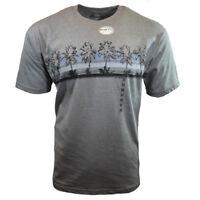 Men Tee T-Shirt S M L XL Beach Hawaiian Aloha Surf Relax Graphic 100% Cotton NEW