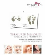 Mybabylog Inkless Wipe Hand and Foot Print Kit Mbl10hpk