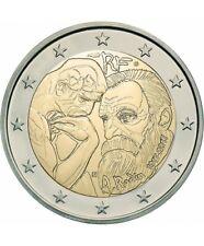 "2 euro commémorative FRANCE 2017 "" RODIN  ""  NEUVE UNC"