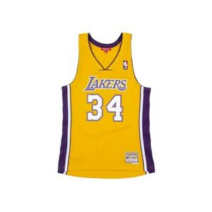 Los Angeles Lakers Shaquille O'Neal 34 Swingman Jersey 1999-2000 Size Medium