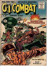 War Front Fury, Battlefield Adventures ANC G. I. Combat #40 1952 GD- 1.8