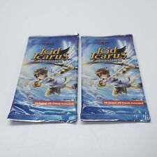 KID ICARUS UPRISING LOT OF 2 NEW SEALED AR CARDS SERIES 1 3DS (LOOK DESC.) E3300