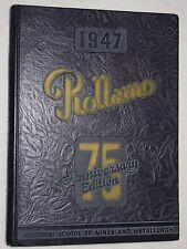 1947 Rolla, MO SCHOOL OF MINES and METALLURGY Yearbook/Annual ROLLAMO Missouri