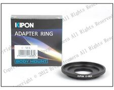 New Kipon Adapter for C mount Lens to Sony NEX E mount NEX-7/6/5 a7 a7r NEX-VG10