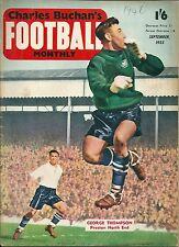 CHARLES BUCHAN'S FOOTBALL MONTHLY ~ SEPTEMBER 1955 ~ MANCHESTER UNITED / EVERTON