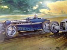 Mini litho ACF Grand Prix 1935 door Rob Roy