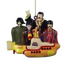 Beatles - Yellow Submarine - Ornament  By Kurt S. Adler - New