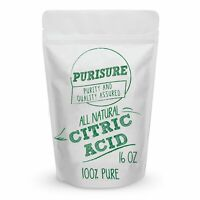 Food Grade Citric Acid Pure Anhydrous Powder | Non GMO with Finest Quality 16 oz