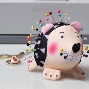 Cute Hedgehog Shape Soft Fabric Pin Cushion Pin Quilting Holder DIY Sewing Craft