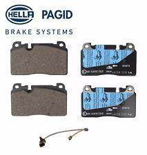 For Audi Q5 Premium Plus Prestige Front Disc Brake Pad Set w/ Sensor Hella Pagid