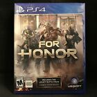 For Honor (Sony PlayStation 4, 2017) BRAND NEW / Region Free
