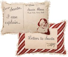 Dear Santa I Can Explain Christmas Throw Pillow Letter Pocket Primitives Kathy