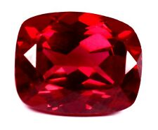 Burma 11.10 Ct Natural Blood Red Ruby Cushion Cut Loose Gemstone Certified A1285