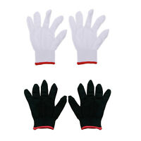 12 Pairs Nylon Safety Coating Work Gloves Builders Grip Protect S M L A fz