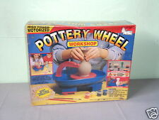 Nib Nsi #670 High Power Motorized Ceramic Real Working Pottery Wheel Workshop