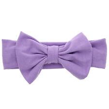 Girls Kids Baby Cotton Bow Hairband Headband Sweet Turban Knot Head Wrap