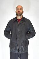 BARBOUR Giubbotto Blu Stile Casual In Cotone Acrilico TG C46/XL Uomo Man