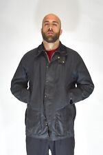 Barbour Jacket Blue Style Casual Cotton Acrylic Size C46/XL Man Man