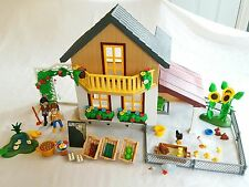 Playmobil 5120 Farm House with Market -Dollhouse -Country - NEW
