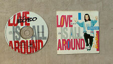 "CD AUDIO MUSIQUE / D.J. BOBO ""LOVE IS ALL AROUND"" CD SINGLE 3T 1994 CARDSLEEVE"