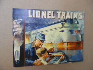 1935 Lionel Electric Trains Catalog Type I Vintage Original VG+
