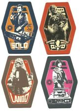 Star Wars Odeon Exclusive Solo Movie Character Cards Complete Set FREE SHIPPING