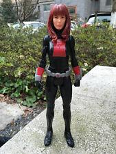 "Geniune Hasbro Marvel Avengers Black Widow 12"" Action Figure New No Package"