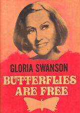 "Gloria Swanson ""BUTTERFLIES ARE FREE"" Leonard Gershe 1971 Souvenir Program"