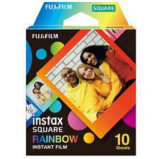 Fujifilm Instax Square Rainbow Film (10 Sheets)