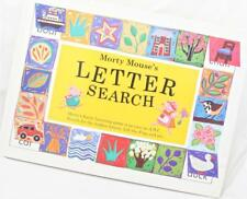 Morty Mouse's Letter Search A Lift the Flap Book Picture Word Beginning Sounds
