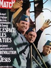 PARIS MATCH N° 1157 COSMONAUTES SOYOUZ REVOLUTION : JESUS AUX ETATS-UNIS 1971