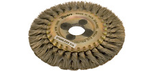 "Wire Wheel Brush 5"" Dixbro SBS125 x 6 x 22 stainless steel"