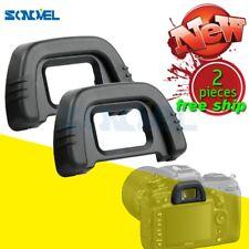 2pcs DK-21 Rubber EyeCup Eyepiece For NIKON D7000 D300 D200 D70s D80 D90 D100