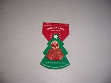 1995 Hallmark Holiday Barbie Doll Christmas Pin Lapel Brooch New on Card