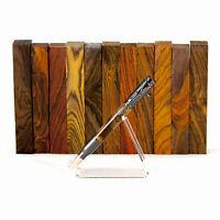 """Exotic *PREMIUM* Cocobolo Rosewood pen/razor blank turning square, 3/4""""x3/4""""x5"""""""