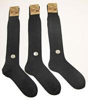 Lot de 3 paires Chaussettes Mi Bas Homme Longue Haute 24% Laine Sans Couture!