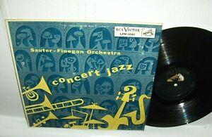 Sauter-Finegan Orchestra - Concert Jazz LP 1955 RCA DG Jim Flora Art Cover VG+