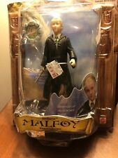 HARRY POTTER Slytherin Malfoy Wizard Collection 2001 MATTEL POSEABLE FIGURE NIP