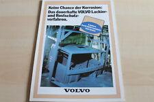 130345) Volvo LKW - Rostschutz - Prospekt 198?