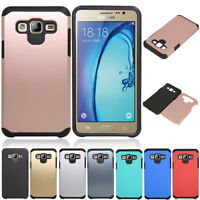 Slim Hybrid Shockproof Rubber Case Hard Armor Cover For Samsung Galaxy J7 Neo
