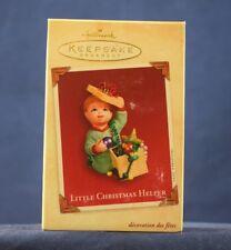 NEW 2003 Hallmark Keepsake Ornament LITTLE CHRISTMAS HELPER NIB