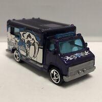 Hot Wheels Purple Ambulance 1:64 Scale Diecast Toy Car Mattel