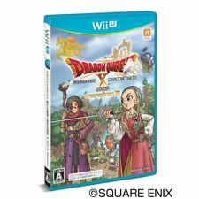 New Wii U Dragon Quest X Ally Leads Brave Sleeping Online  Japan Import