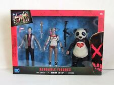 Suicide Squad Bendable Action Figures Box Set The Joker, Harley Quinn & Panda