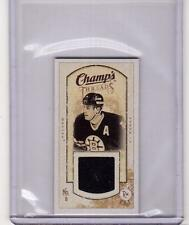 CAM NEELY 09/10 CHAMPS CHAMP'S MINI THREADS Game-Used JERSEY Card Bruins #MT-CN