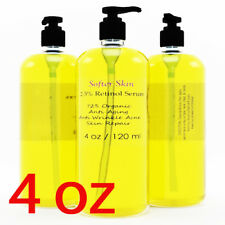PURE 4 OZ RETINOL VITAMIN A 2.5% Anti Aging Wrinkle Acne Facial Face Serum Cream