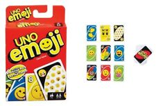 Uno Card Game Emoji Theme 112 Cards Great Family Fun Kids Children Travel Party